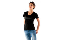 Mons Royale Womens Tee Technical black monsday
